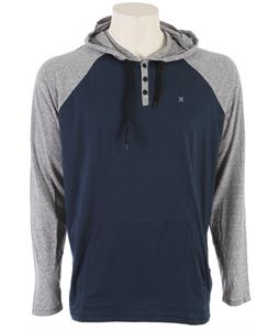 Hurley Valley L/S Henley Legacy Navy