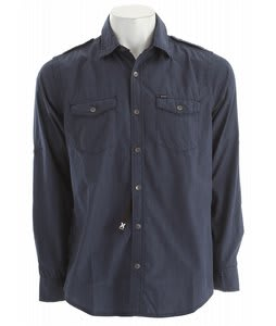 Hurley Vector 2.0 L/S Shirt Legacy Navy
