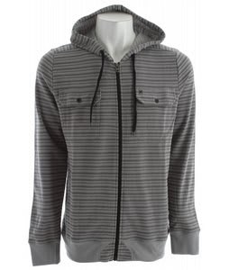 Hurley Waterloo L/S Hoodie Concrete