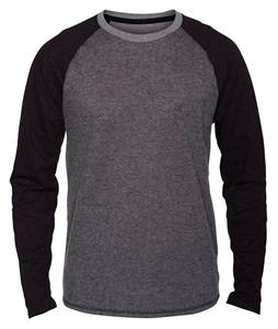 Hurley Winterlight Crew L/S Sweatshirt Black Heather