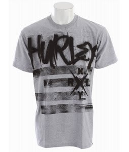 Hurley Zero T-Shirt Heather Grey
