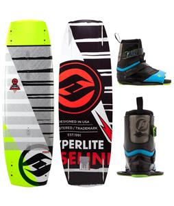 Hyperlite Baseline Wakeboard 136 w/ Focus Bindings