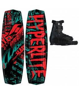 Hyperlite Clash Wakeboard w/ Focus Bindings