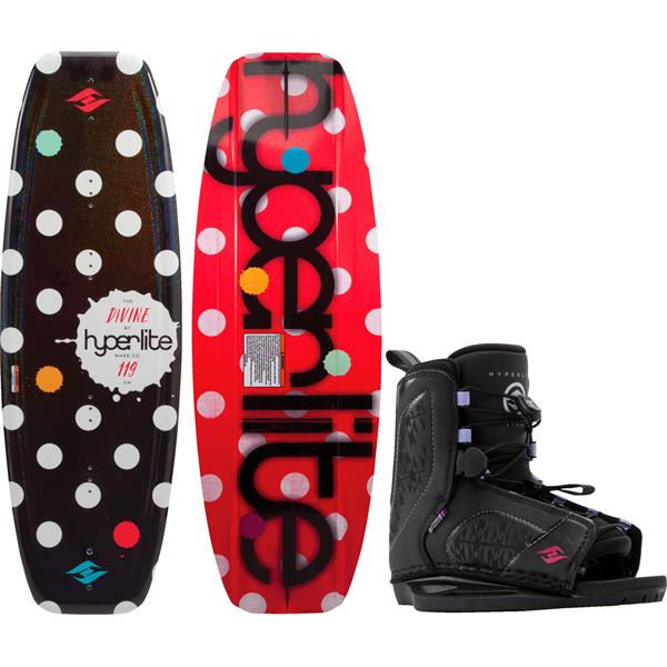 Hyperlite Divine Jr. Wakeboard w/ Jinx Bindings