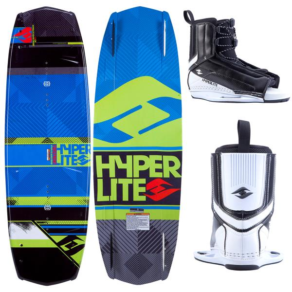 Hyperlite Forefront Wakeboard w/ Remix Boots