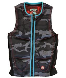 Hyperlite Franchise Comp Wakeboard Vest Snow Camo