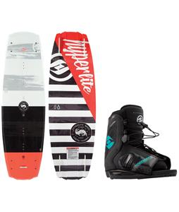 Hyperlite Franchise Jr. Wakeboard w/ Remix Bindings