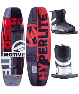 Hyperlite Motive Jr. Wakeboard 119 w/ Remix Jr. Boots