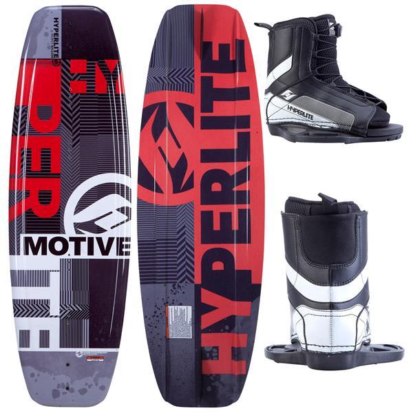 Hyperlite Motive Jr. Wakeboard w/ Remix Jr. Boots