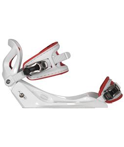 Hyperlite System Wakeboard Bindings White