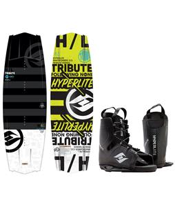 Hyperlite Tribute Blem Wakeboard w/ Frequency Bindings