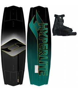 Hyperlite Tribute Wakeboard 142 w/ Focus Bindings