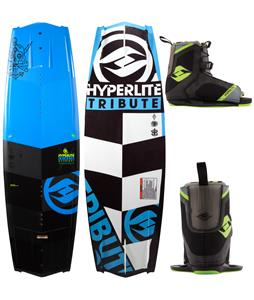 Hyperlite Tribute Wakeboard  w/ Remix Bindings