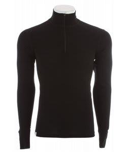 Ibex Woolies 150 Zip T Baselayer Top Black