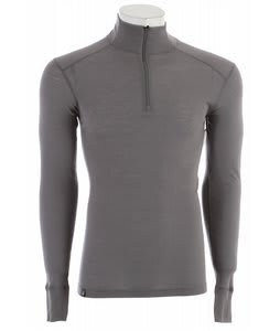 Ibex Woolies 150 Zip T Baselayer Top Stone Grey