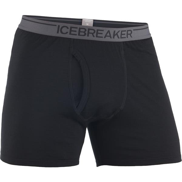 Icebreaker Anatomica Relaxed Boxers w/ Fly Underwear