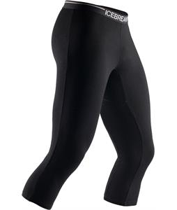 Icebreaker Apex Legless Baselayer Pants Black