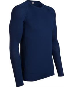 Icebreaker Everyday L/S Crewe Baselayer Top Planet