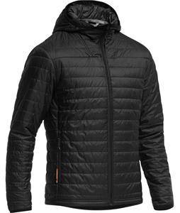 Icebreaker Helix L/S Zip Hood Jacket Black/Black