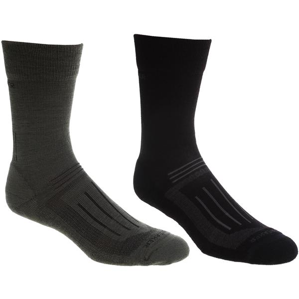 Icebreaker Hike Light Crew 2 Pack Socks