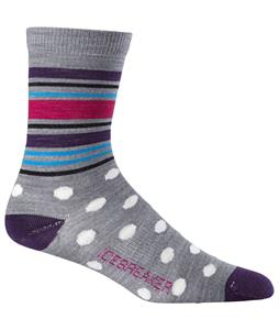 Icebreaker Lifestyle 3/4 Crew Spots Ultralight Socks