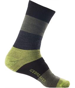 Icebreaker Lifestyle Crew Stripey Ultralight Socks