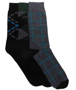 Icebreaker Lifestyle Fine Gauge Ultra Light Crew 3 Pack Socks