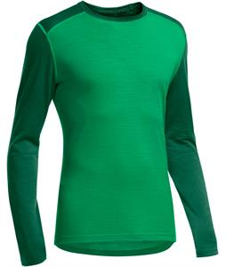 Icebreaker Oasis L/S Crewe Baselayer Top Lucky/Bottle/Bottle