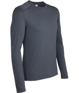 Icebreaker Oasis L/S Crewe Baselayer Top Monsoon
