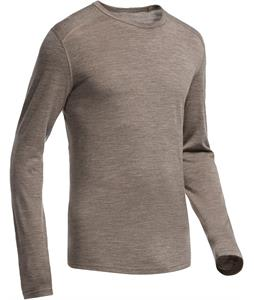 Icebreaker Oasis L/S Crewe Baselayer Top Trail HTHR
