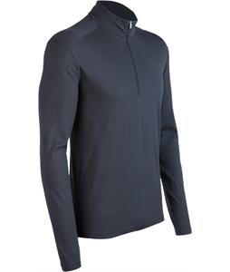 Icebreaker Oasis L/S Half Zip Baselayer Top Monsoon