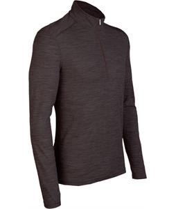 Icebreaker Oasis L/S Half Zip Baselayer Top Trail Melange