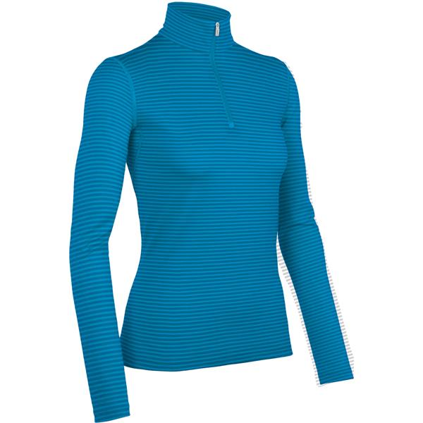 Icebreaker Oasis L/S Half Zip Stripe Baselayer Top