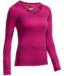 Icebreaker Oasis L/S V Matrix Baselayer Top