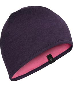 Icebreaker Pocket Hat Beanie Burgundy Heather/Shocking