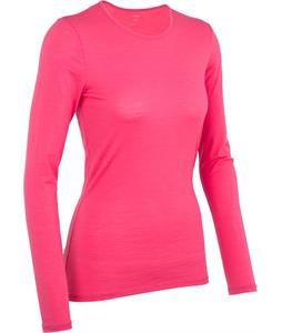Icebreaker Siren L/S Crewe Baselayer Top Pink