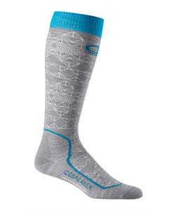 Icebreaker Ski+ Over The Calf Ultralight Mountain Icon Socks