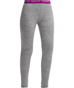 Icebreaker Sprite Leggings Baselayer Pants Metro Hthr/Vivid