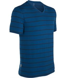 Icebreaker Tech Lite V Stripe Shirt Largo