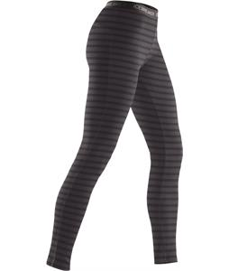 Icebreaker Vertex Leggings Stripe Baselayer Pants Cognac Overdye