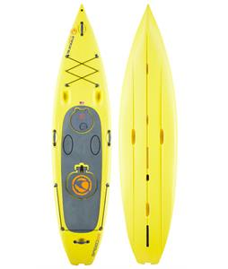 Imagine Speeder SUP Paddleboard Yellow 11ft x 30in