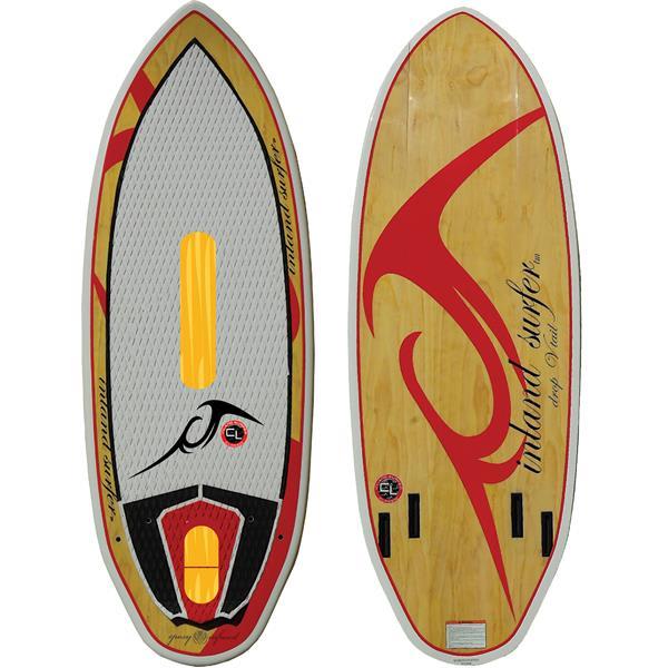 Inland Surfer Red Rocket Wakesurfer
