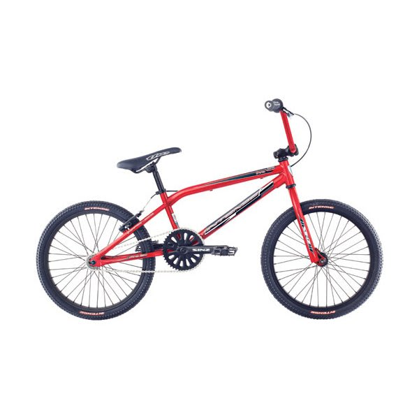 intense moto pro steel bmx race bike red 20in ebay. Black Bedroom Furniture Sets. Home Design Ideas