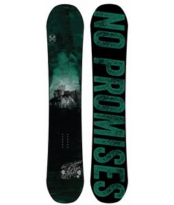 The Interior Plain Project Harrow Snowboard Dark Teal/Green/Black 152