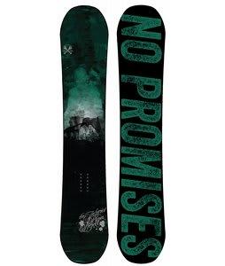 The Interior Plain Project Harrow Snowboard Dark Teal/Green/Black 147