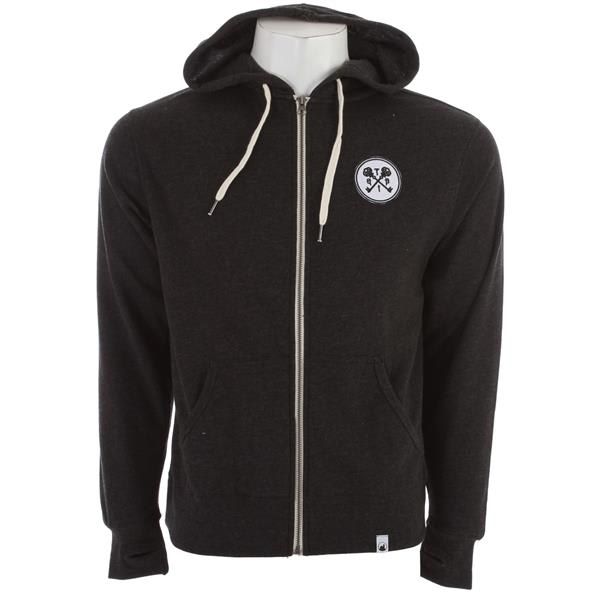 The Interior Plain Project Key Zip Hoodie