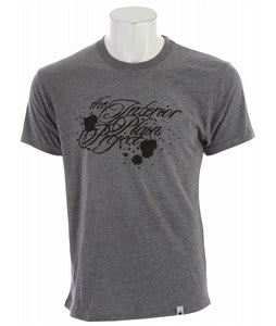 The Interior Plain Project Splatter T-Shirt Heather Grey