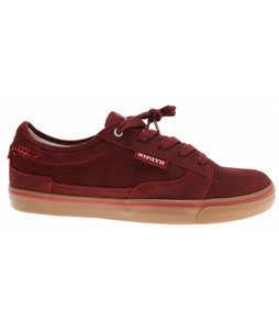 Ipath Derelict Skate Shoes Rosewood Waxed Suede/Gum
