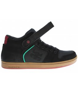 Ipath Grasshopper Skate Shoes Black Gum Rasta