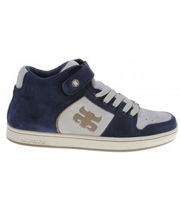 Ipath Grasshopper Skate Shoes Blue Oasis Suede/Cowskull